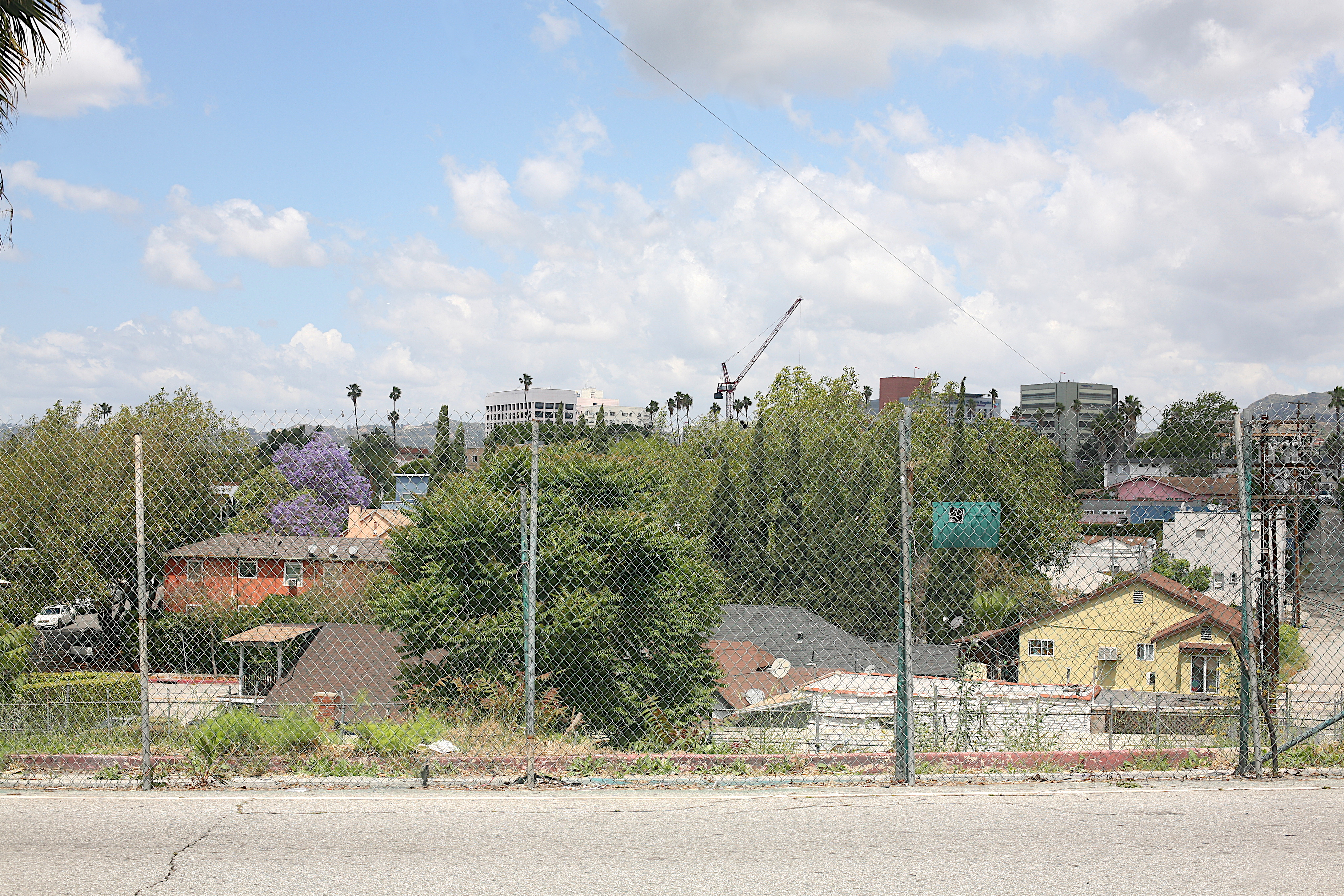 East Hollywood, Los Angeles, as seen from Manzanita street