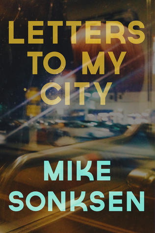 The book cover for Mike the Poet's Letters to My City, published in 2019